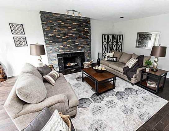 Decorated Living Room in St. Catharines