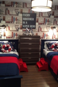 Staged Boys Bedroom in Niagara, ON