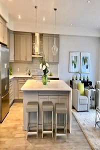 Staged Kitchen in St. Catharines