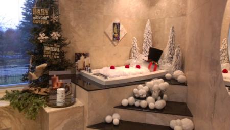 Christmas Decorated Interior Design